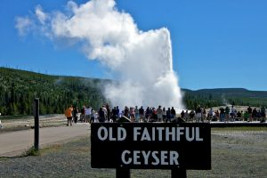 The Old Faithful geyser is known as one of the most predictable geographical features on Earth, erupting almost every 91 minutes.