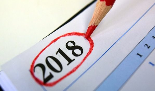 McClain County 2018 Holidays